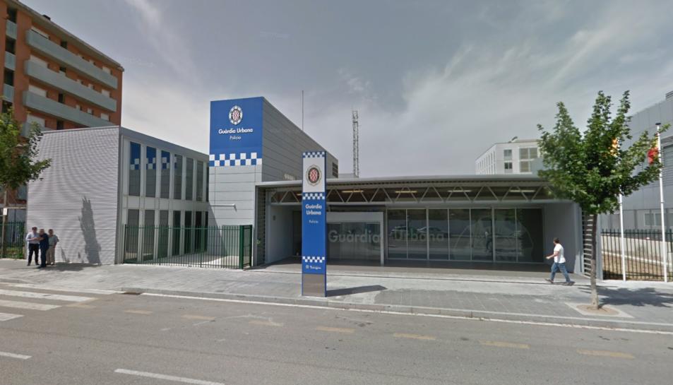 Imatge de la comissaria de la Guàrdia Urbana de Tarragona.