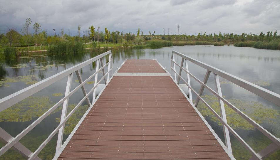 L'Ajuntament vol fer del llac un espai central de l'Anella.