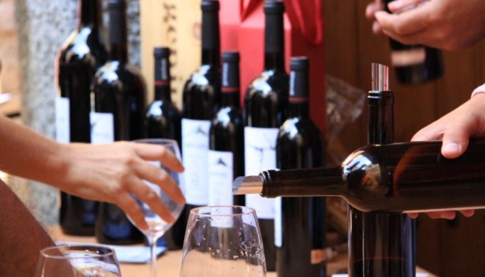 El tast de vins serà un dels actes centrals de la festa.