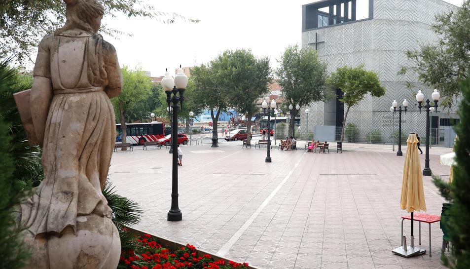 Imatge d'arxiu de la plaça de la Constitució de Bonavista.