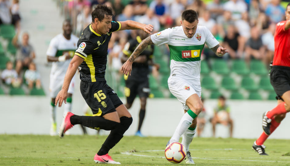 Imatge del partit de la primera jornada que l'Elche va jugar a casa contra el Granada.