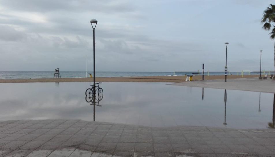Torredembarra també ha patit les forts xàfecs.