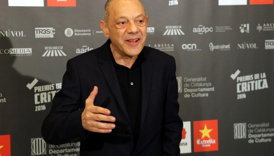 El director del Teatre Lliure, Lluís Pasqual.