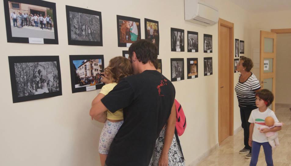 Detall de l'exposició Imatges pel record.