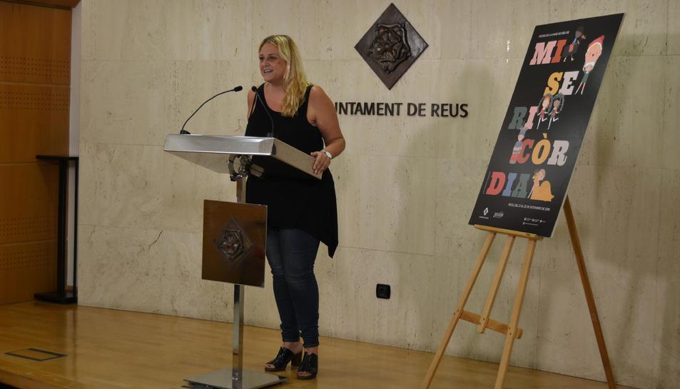 La regidora de Cultura, Montserrat Caelles, ha presentat la programació de Misericòrdia 2018.