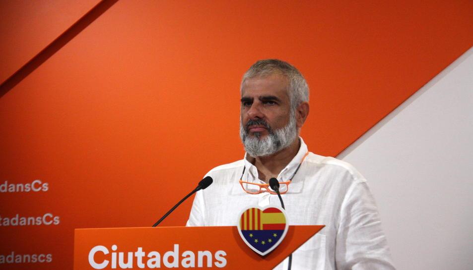Carlos Carrizosa, portaveu de Ciutadans
