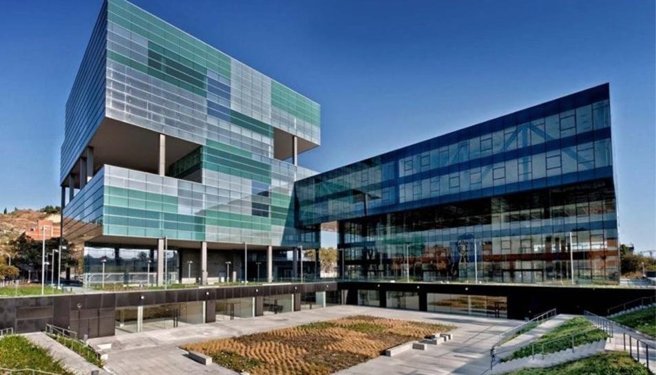 Imatge de la seu d'Aigues de Barcelona.