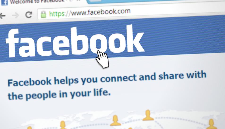 Imatge d'inici de la pàgina de Facebook.