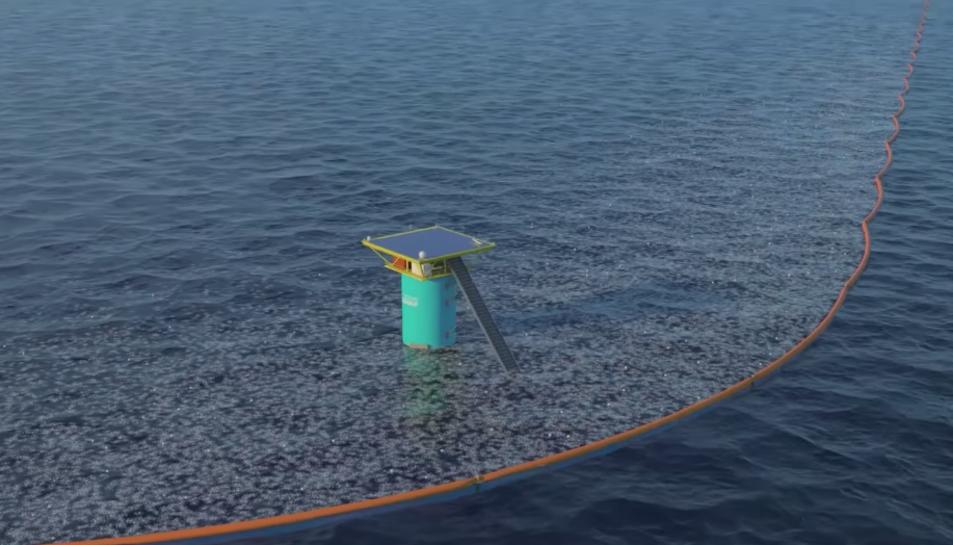 Imatge del projecte de The Ocean Cleanup Prototype