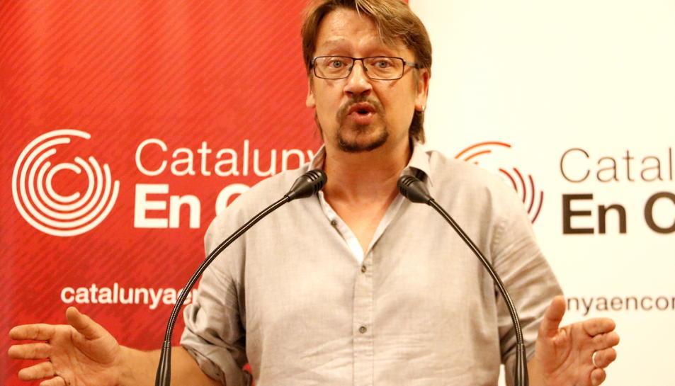 Imatge d'arxiu del coordinador general de Catalunya en Comú, Xavier Domènech.