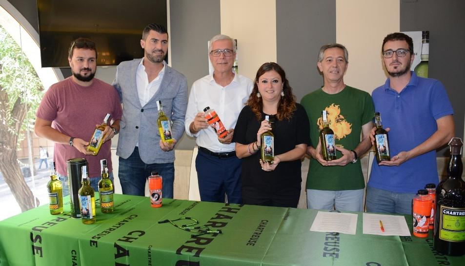 Carme Rodríguez, dimarts passat, en la presentació del Chartreuse de Santa Tecla i el Tau.