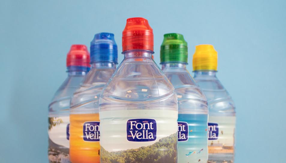 Imatge del nou disseny de les ampolles.