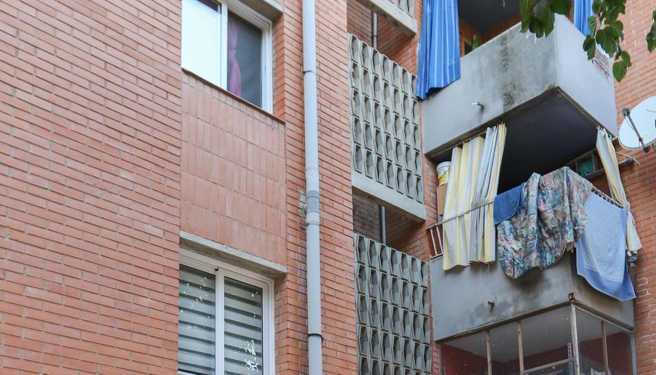 L'edifici on, aquest dilluns, van intentar accedir de forma il·legal.