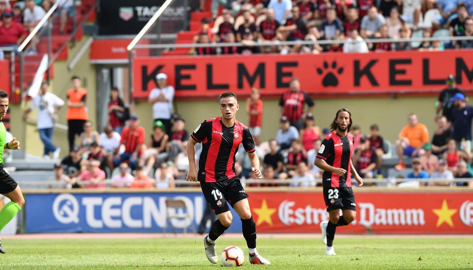 Imatge del partit del diumenge a l'Estadi contra l'Albacete.