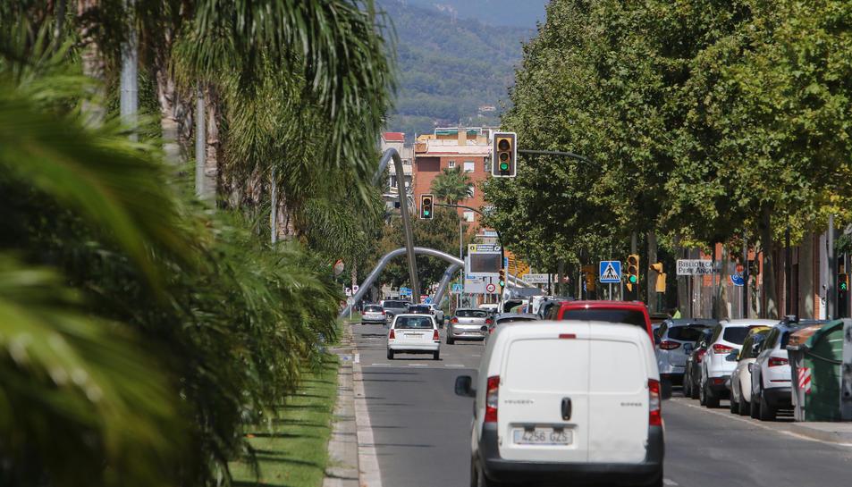 Una de les intervencions partirà del carrer de Manuel Hugué.
