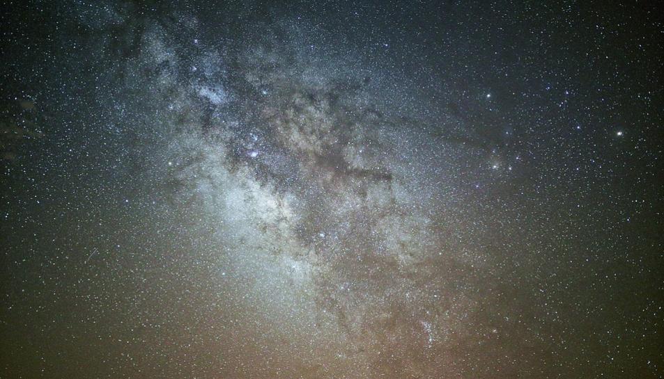 Imatge de la Vía Láctea.
