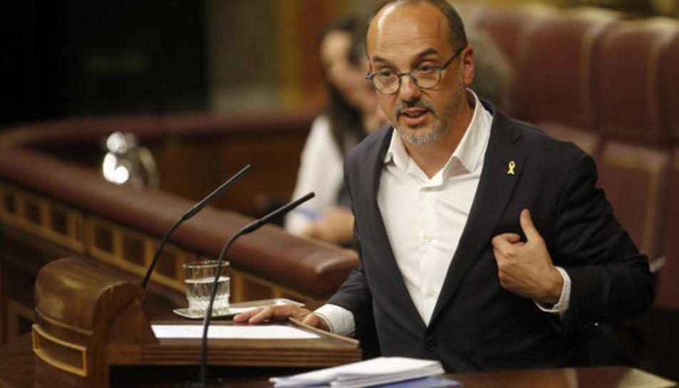 El portaveu del PDeCAT, Carles Campuzano, en una imatge d'arxiu al Congrés.