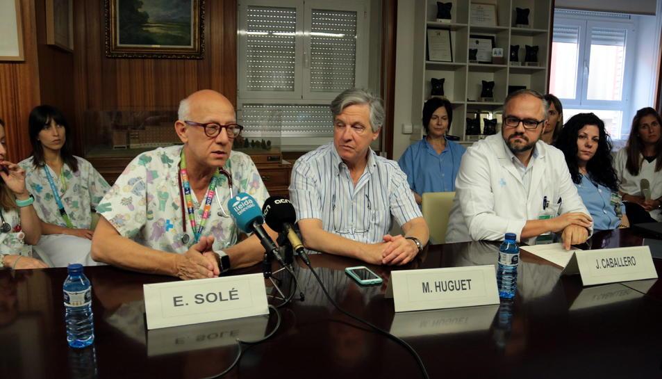 Mateu Huguet Recasens ha estat, fins ara, gerent territorial de l'ICS a Lleida, Alt Pirineu i Aran.