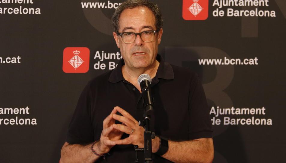 Pere MAcias era el director tècnic del projecte de connexió dels tramvies de Barcelona.