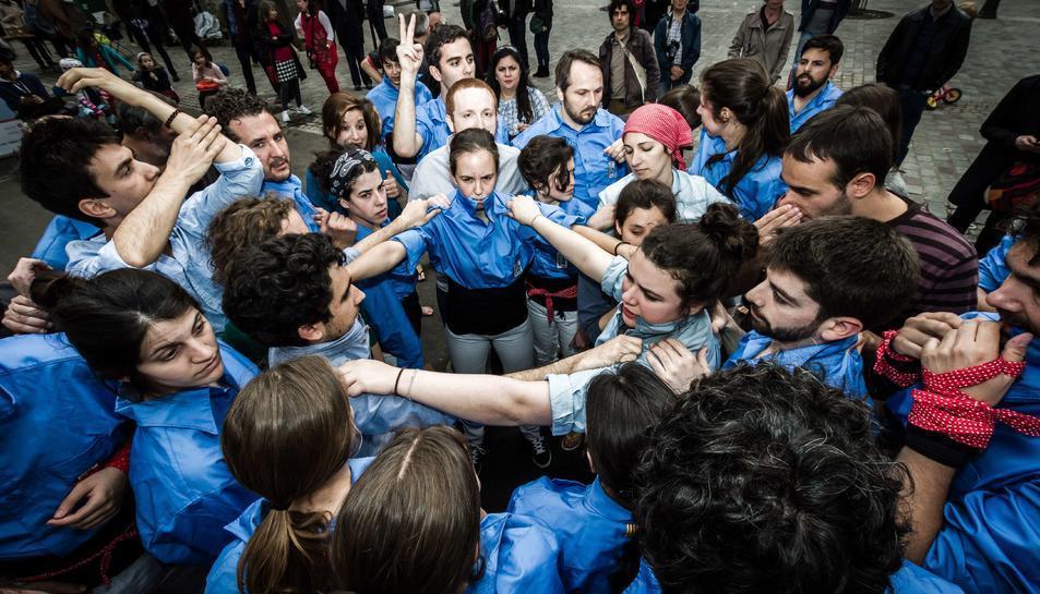 Els Castellers de París participaran a la Diada Internacional del 6 d'octubre a la plaça de la Font.