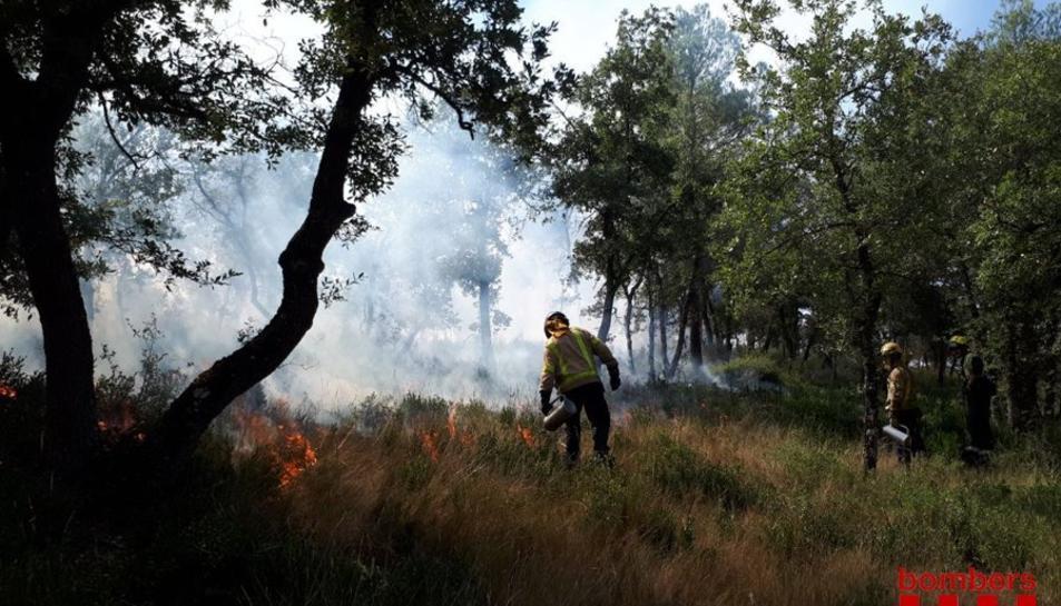 Una imatge d'arxiu d'un incendi.