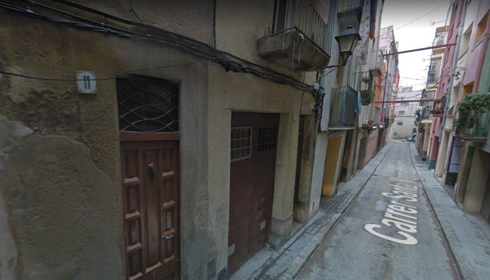 El carrer Santa Maria de Valls