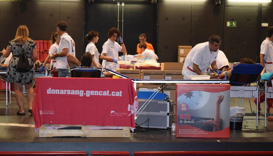 El Teatre Tarragona s'ha convertit en un hospital