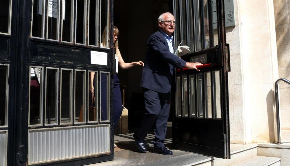Paco Zapater, advocat de quatre dels investigats que ha anunciat la presentació d'un recurs a la interlocutòria.
