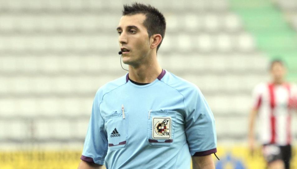 Víctor Areces Franco, àrbitre del Nàstic-Deportivo.