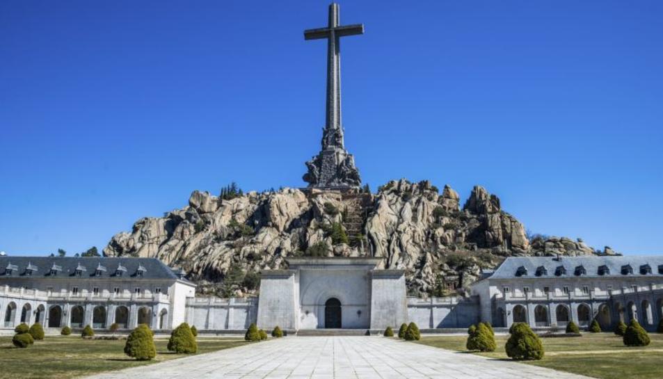 Imatge del Valle de los Caídos.