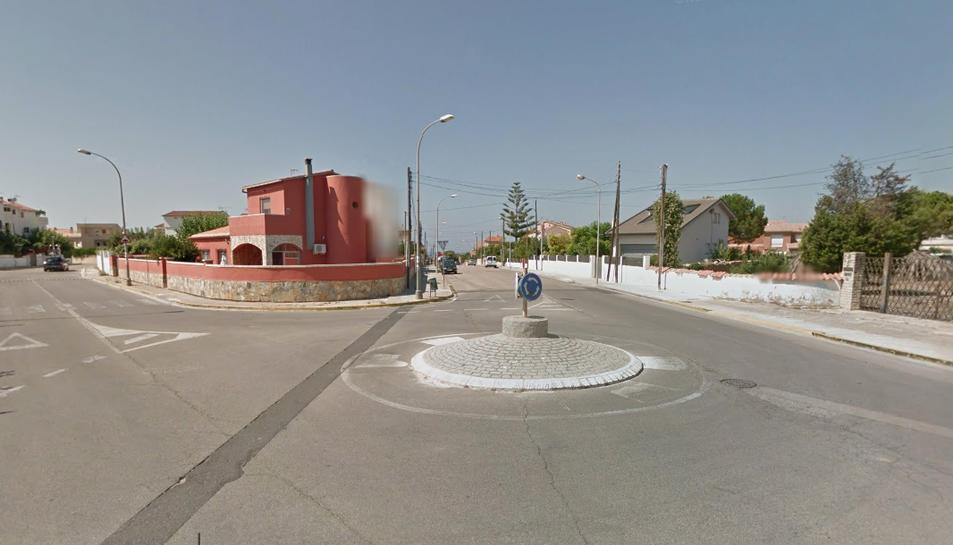 L'avinguda Sant Jordi, amb el camí vell de la Pobla, és un dels punts on es milloraran les voreres.