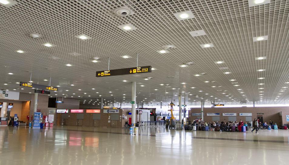 Imatge d'arxiu de l'Aeroport de Reus.