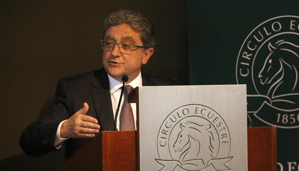 Pla mig del ministre de l'Interior, Fernando Grande-Marlaska.