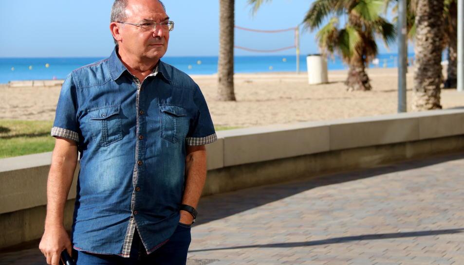 Jesús Benedicto, exregidor de Ciutadans a Calafell i ara afiliat a la militància d'Esquerra Republicana.