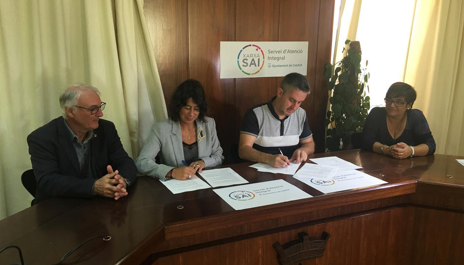 L'Ajuntament de Calafell i la direcció general d'Igualtat de la Generalitat han signat un conveni per implantar aquest servei.