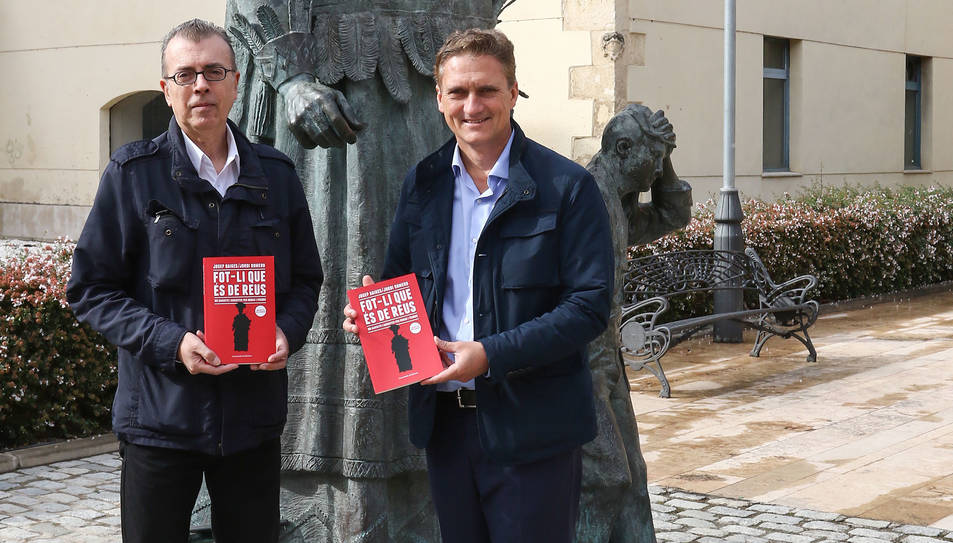 Jordi Romero i Josep Baiges aquest dimarts a Reus.
