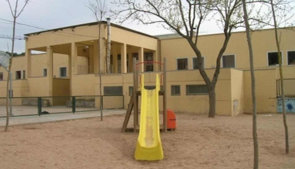 Escola Font de la Pólvora de Girona, en la que el nen estava matriculat.