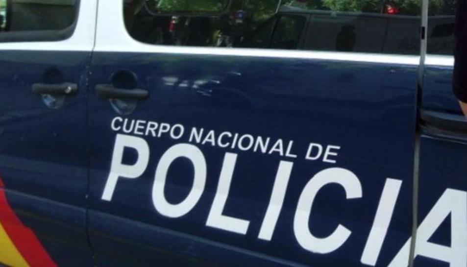 La Policia Nacional té en marxa una operació en marxa a Riudoms.