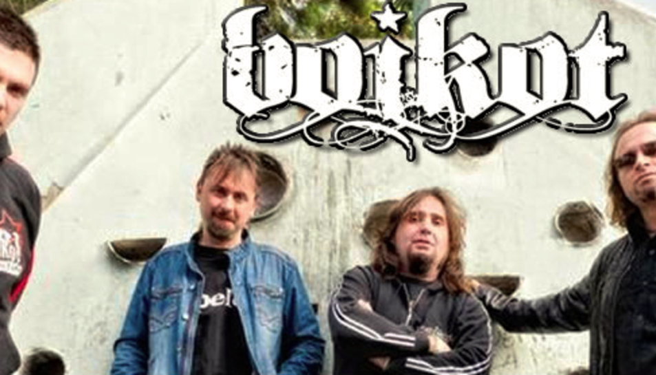 Imatge promocional del grup madrileny Boikot.