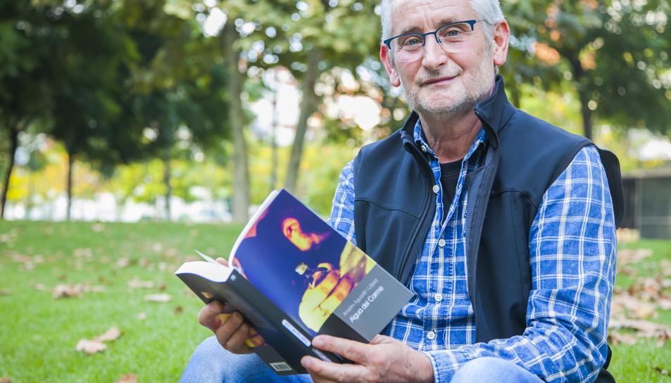 L'escriptor de Vilabella, aquesta setmana passada a Tarragona.