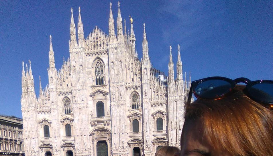 Raquel Mena té 25 anys i viu a Milan.