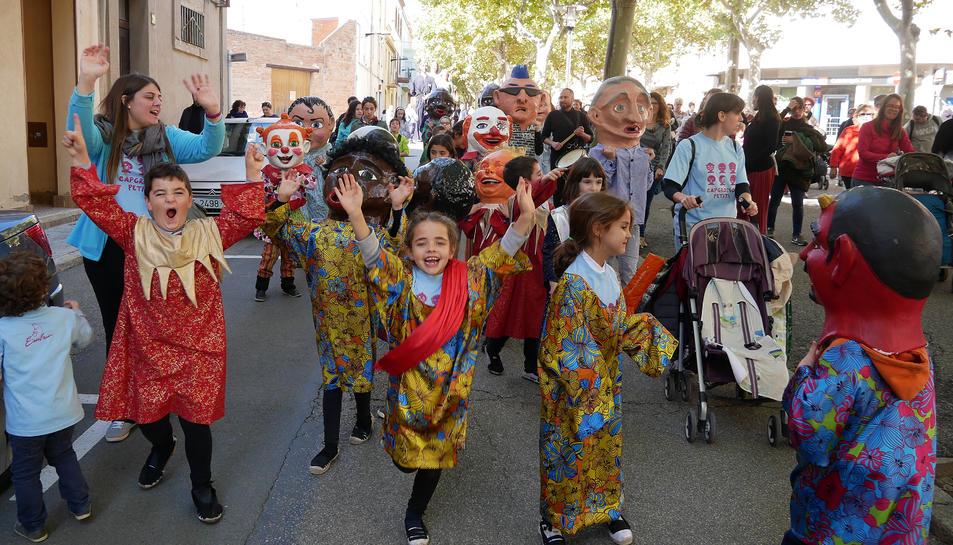 El diumenge es va celebrar la 15a Trobada de gegants al Morell.