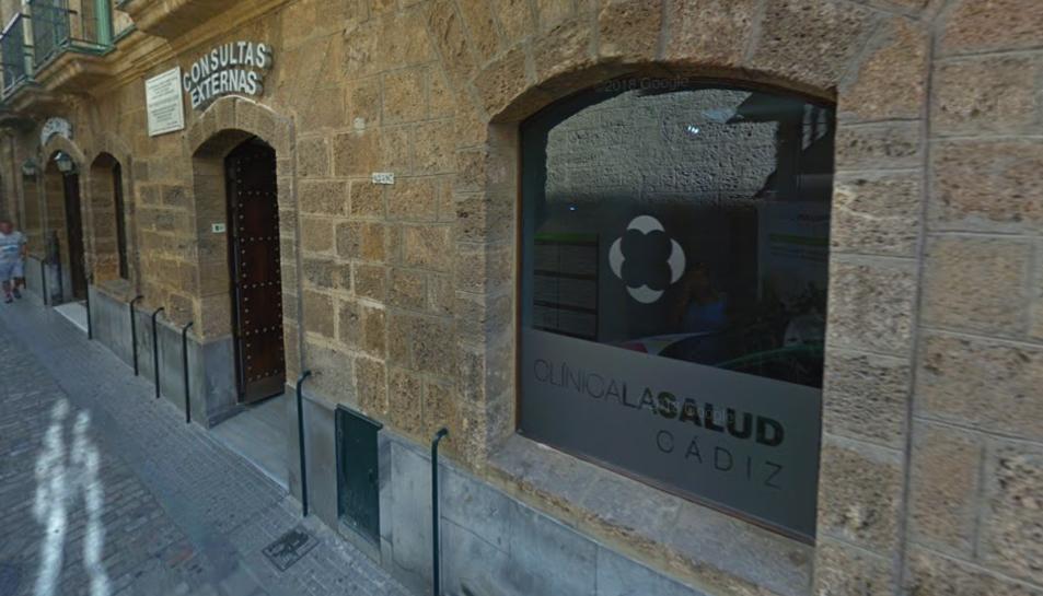 Imatge de la clínica on van tenir lloc els fets.