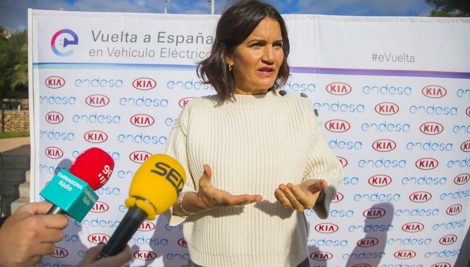 Samantha Vallejo-Nágera s'ha mostrat encantada de tornar a Tarragona