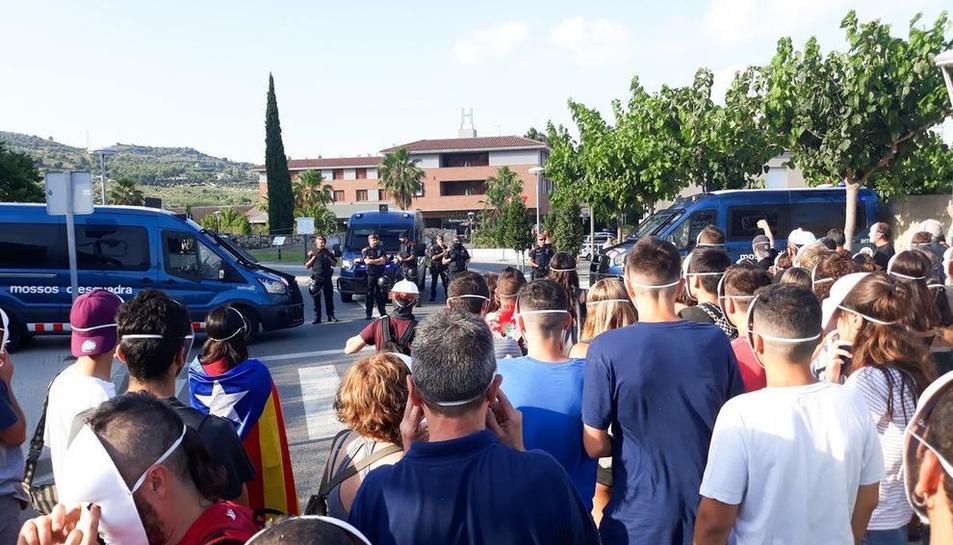 Grups antifeixistes es van manifestar el passat mes de juliol.