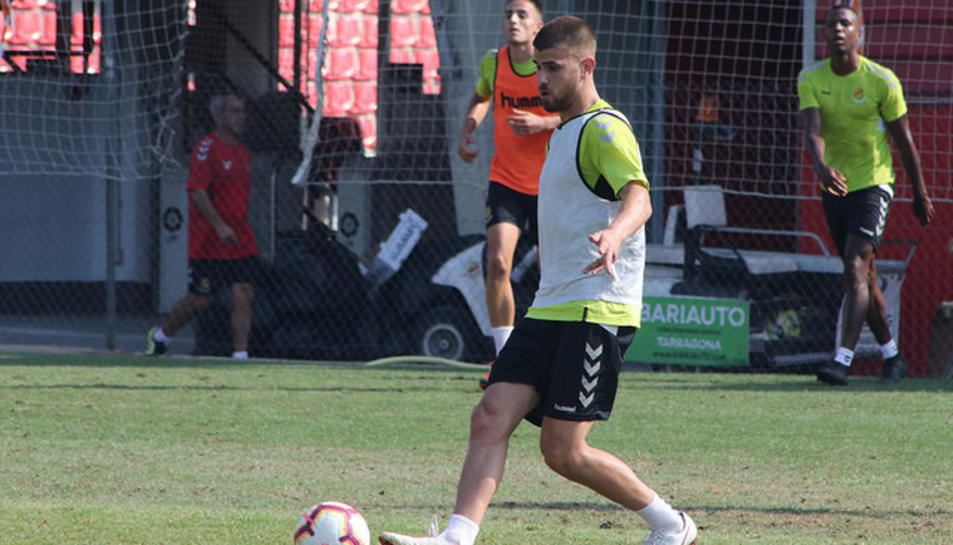 Ramiro Guerra encara no ha disputat cap partit amb la samarreta del Nàstic.