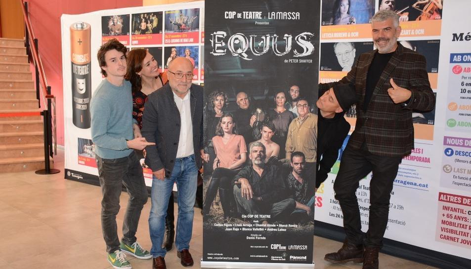 La companyia Cop de Teatre ha adaptat per primera vegada al català aquesta obra original de Peter Shaffer.