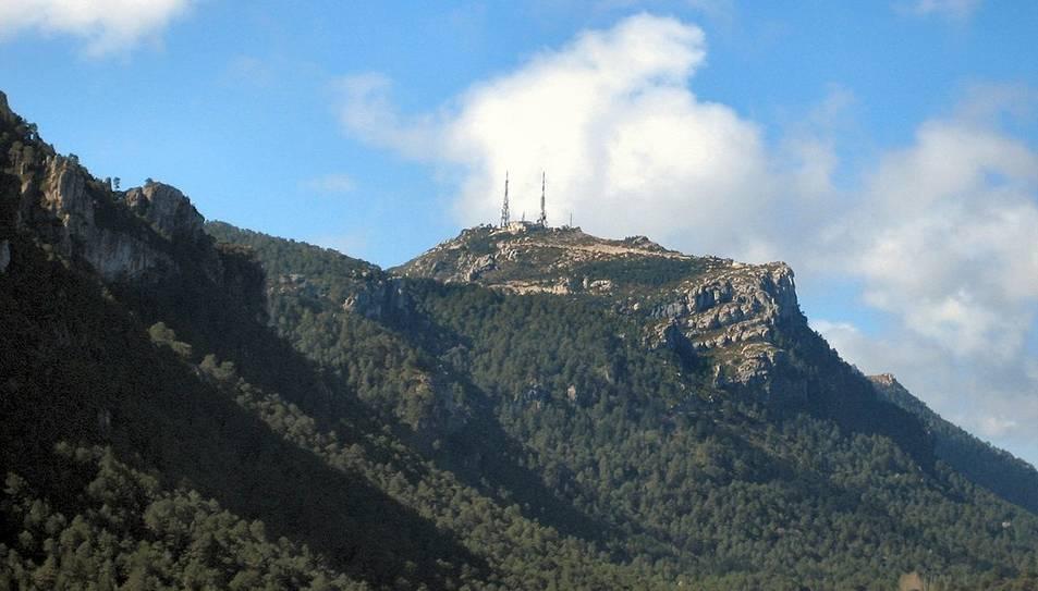 Imatge del Mont Caro dels Ports.