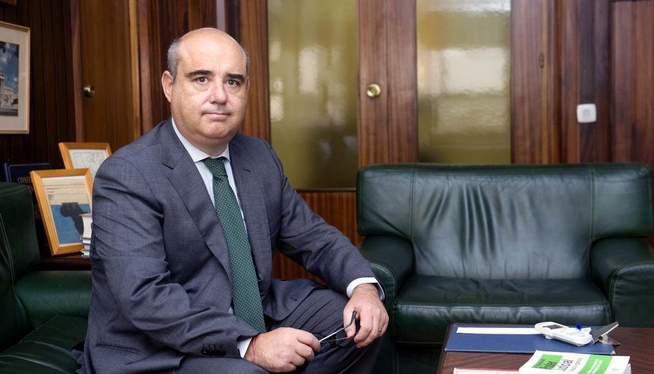 Javier Hernández, en una imatge d'arxiu de l'any 2016.