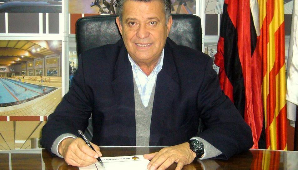 Imatge de l'expresident Joan Sabater.